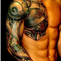biomechanical tattoo dubai